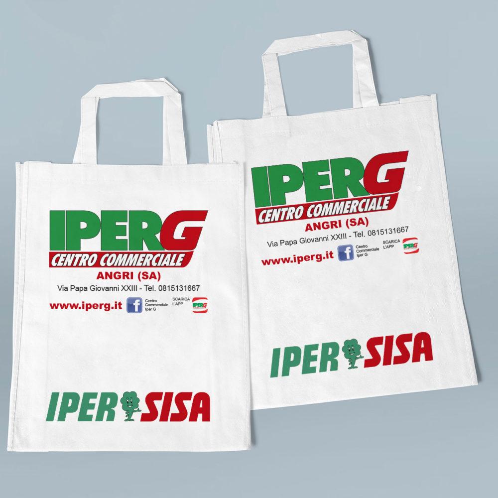 Shopper in tela IPERG