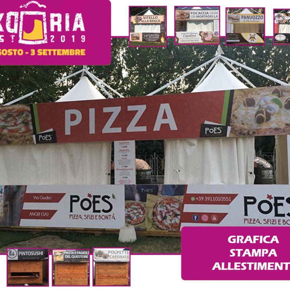 Allestimento Evento Okdoriafest2019